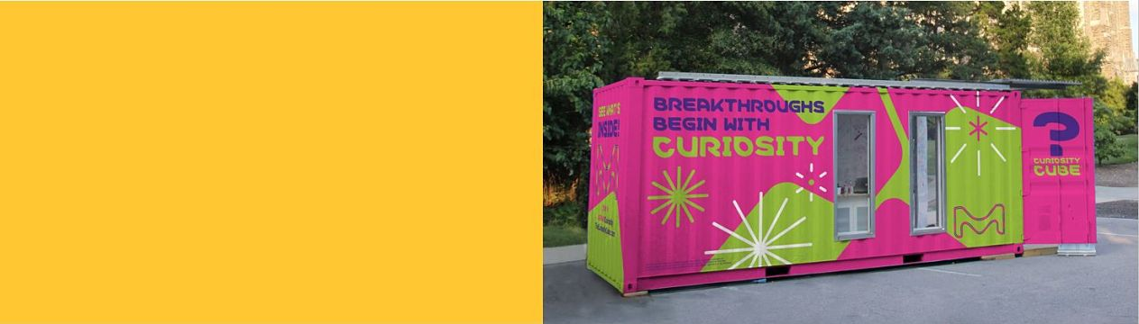 The Curiosity Cube | Mobile Science Lab