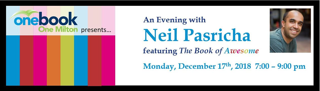An Evening with Neil Pasricha